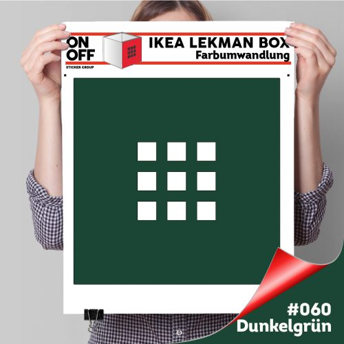 LekmanBox #060 Dunkelgrün