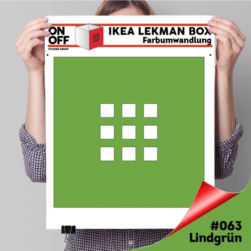 LekmanBox #063 Lindgrün