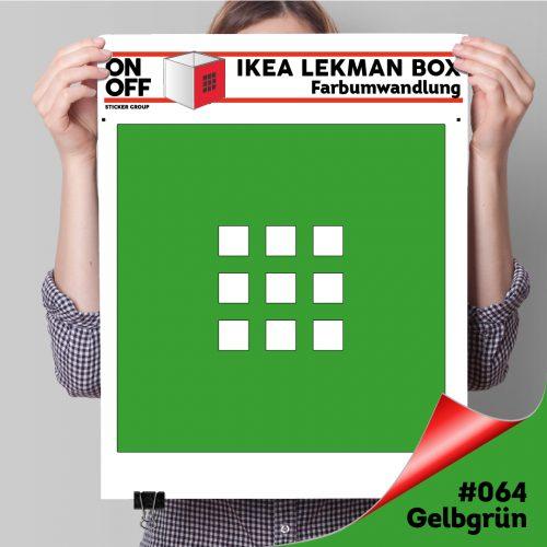LekmanBox #064 Gelbgrün