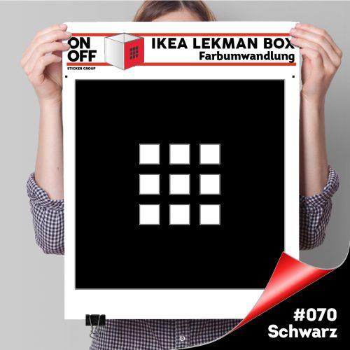 LekmanBox #070 Schwarz