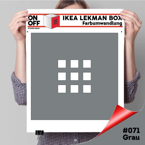 LekmanBox #071 Grau