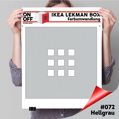 LekmanBox #072 Hellgrau