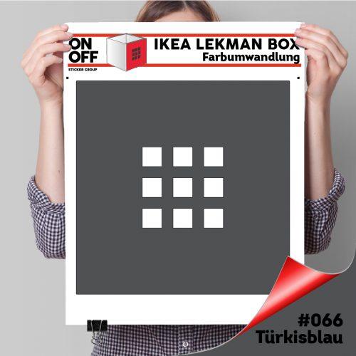 LekmanBox #073 Dunkelgrau
