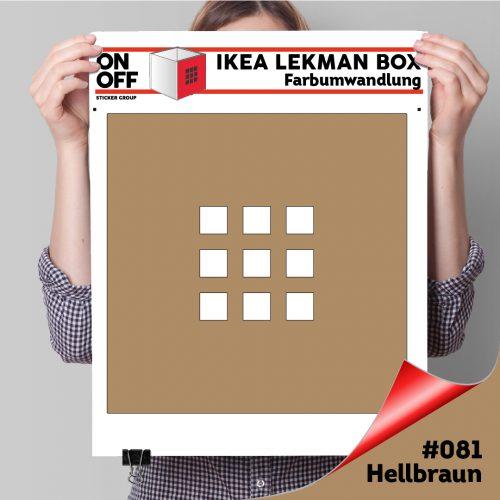 LekmanBox #081 Hellbraun