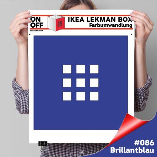 LekmanBox #086 Brillantblau