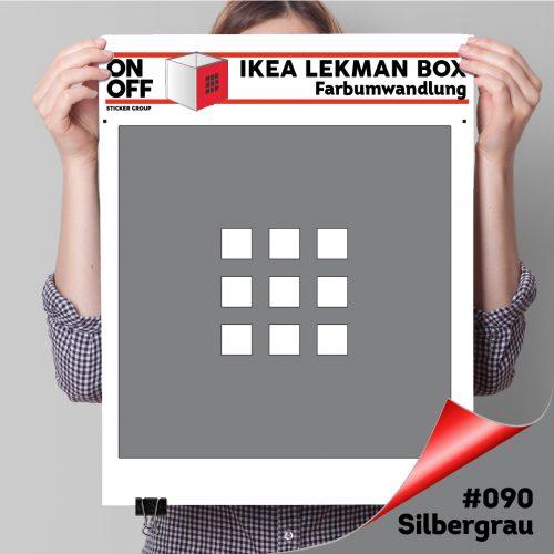 LekmanBox #090 Silbergrau