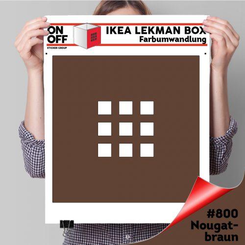 LekmanBox #800 Nougatbraun