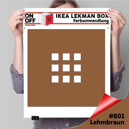 LekmanBox #801 Lehmbraun