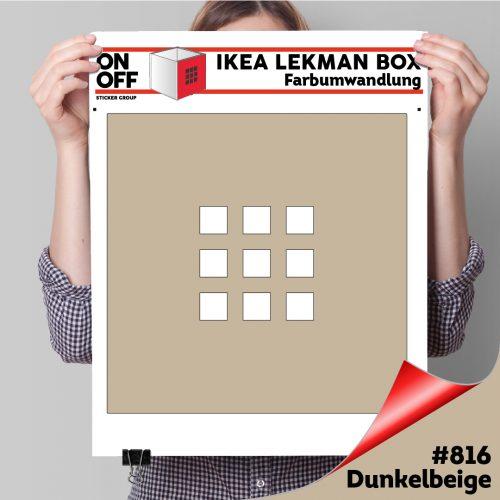 LekmanBox #816 Dunkelbeige
