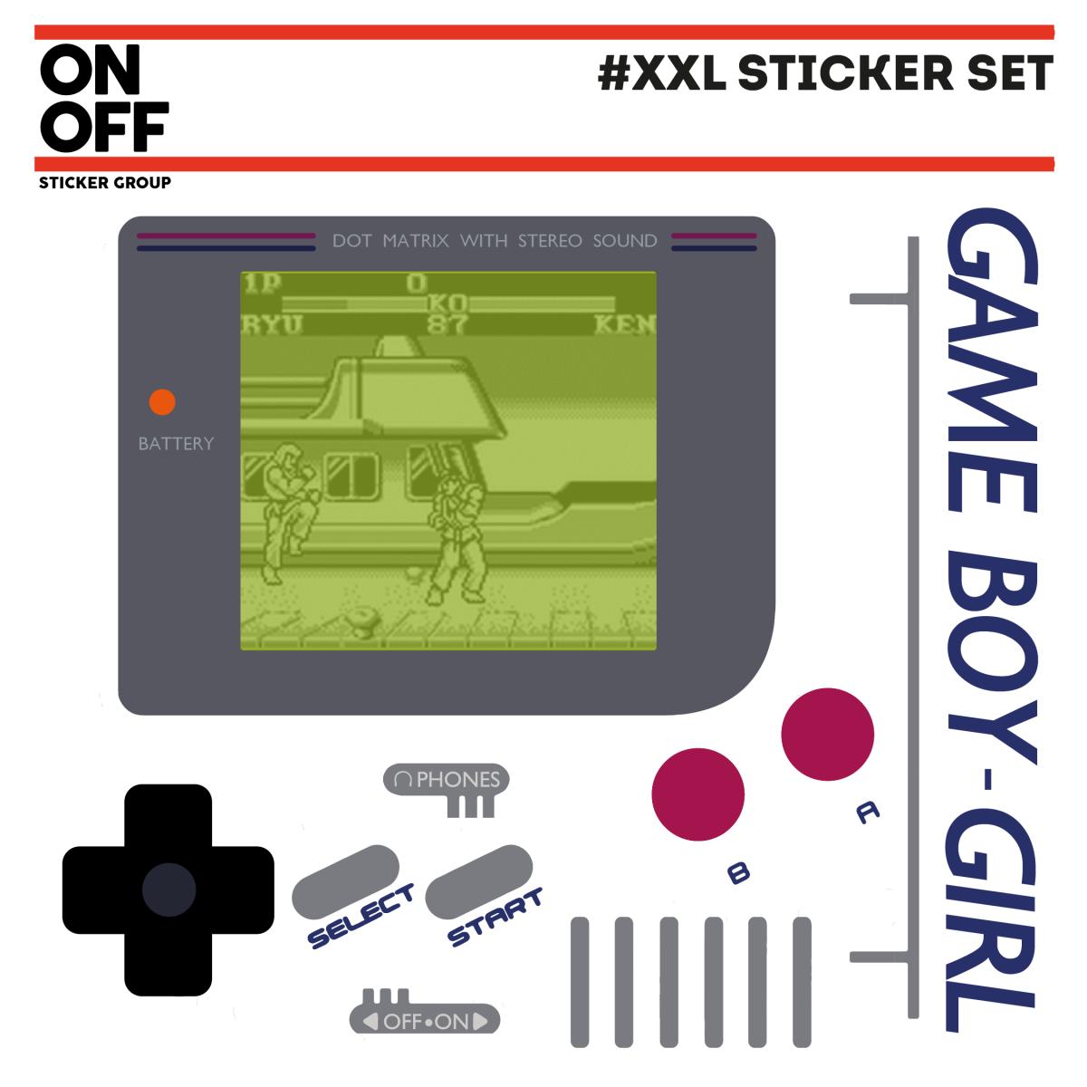 XXL STICKER SETS #gameboy #gamegirl