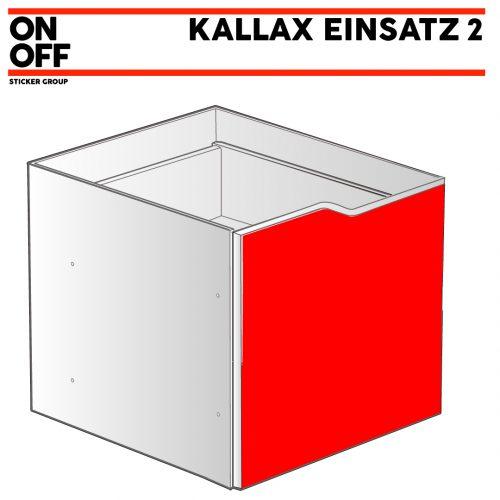IKEA KALLAX Einsatz mit Tür (Welle)