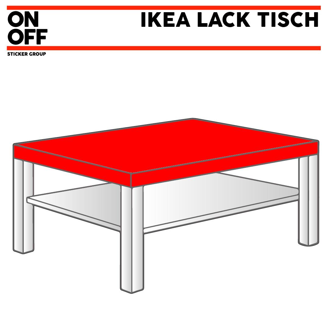 LACK Couchtisch, 90x55 cm