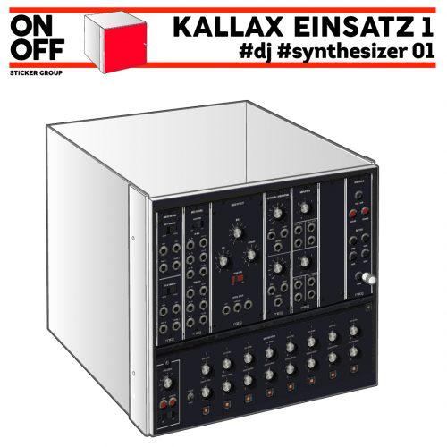 #dj #synthesizer_01 IKEA KALLAX Einsatz mit Tür
