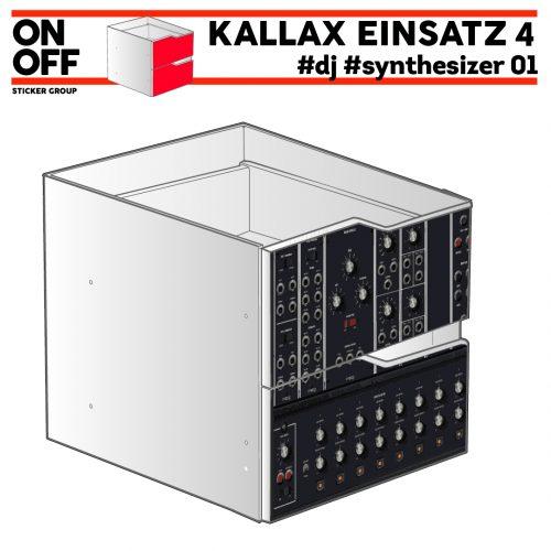 #dj #synthesizer_02 IKEA KALLAX Einsatz mit 2 Schubladen (Welle)
