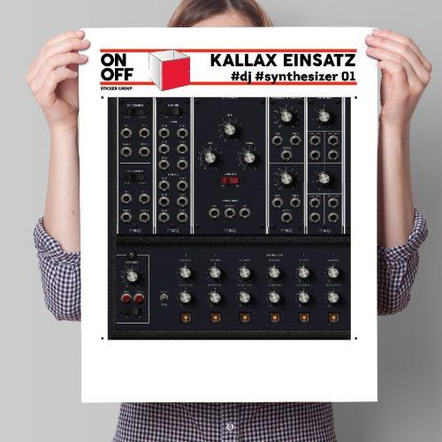 #dj #synthesizer_02 IKEA KALLAX Einsatz mit Tür