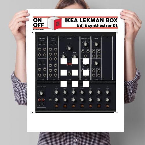 #dj #synthesizer_01 IKEA LEKMAN Box