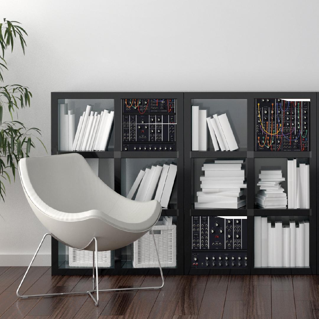 IKEA KALLAX Einsatz #dj #synthesizer