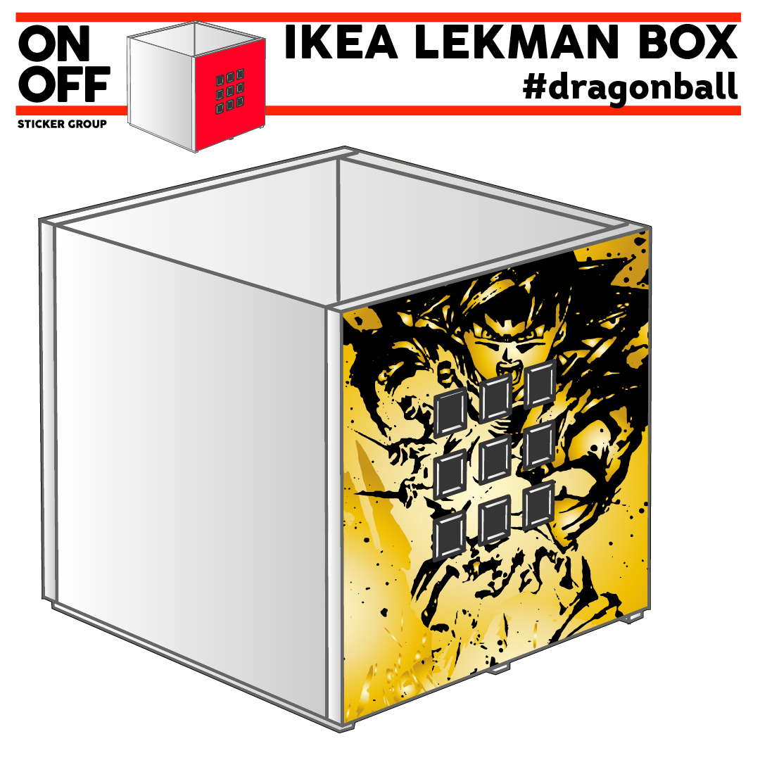 IKEA LEKMAN BOX #dragonball
