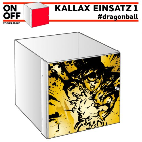 #dragonball IKEA KALLAX Einsatz mit Tür