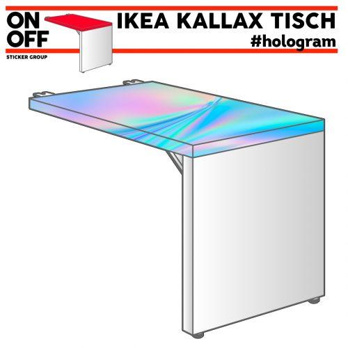 IKEA KALLAX TISCH #hologram