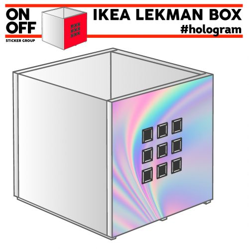 IKEA LEKMAN BOX #hologram