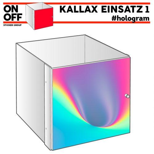 #hologram IKEA KALLAX Einsatz mit Tür