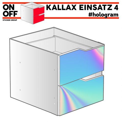 #hologram IKEA KALLAX Einsatz mit 2 Schubladen (Welle)