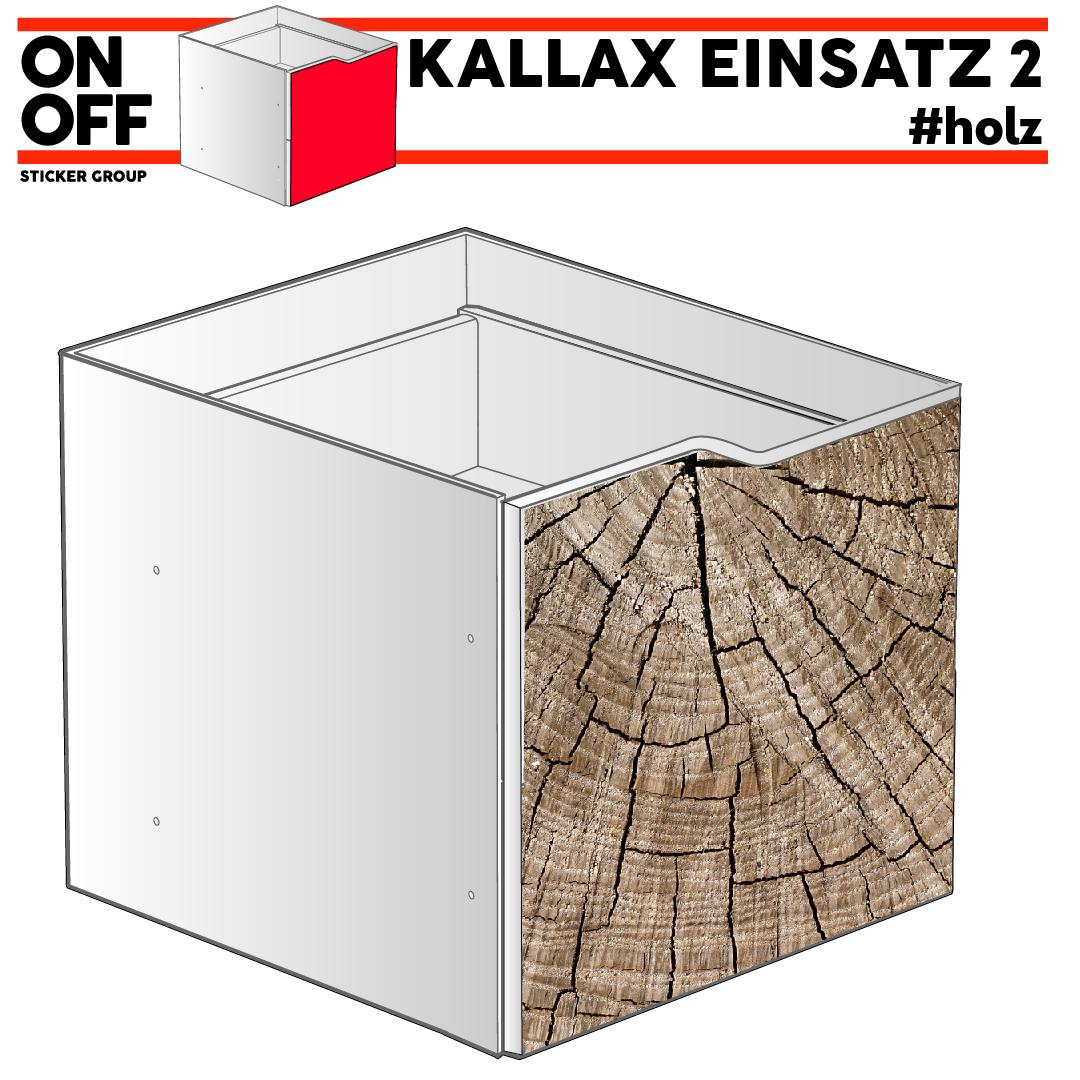 #wood IKEA KALLAX Einsatz mit Welle