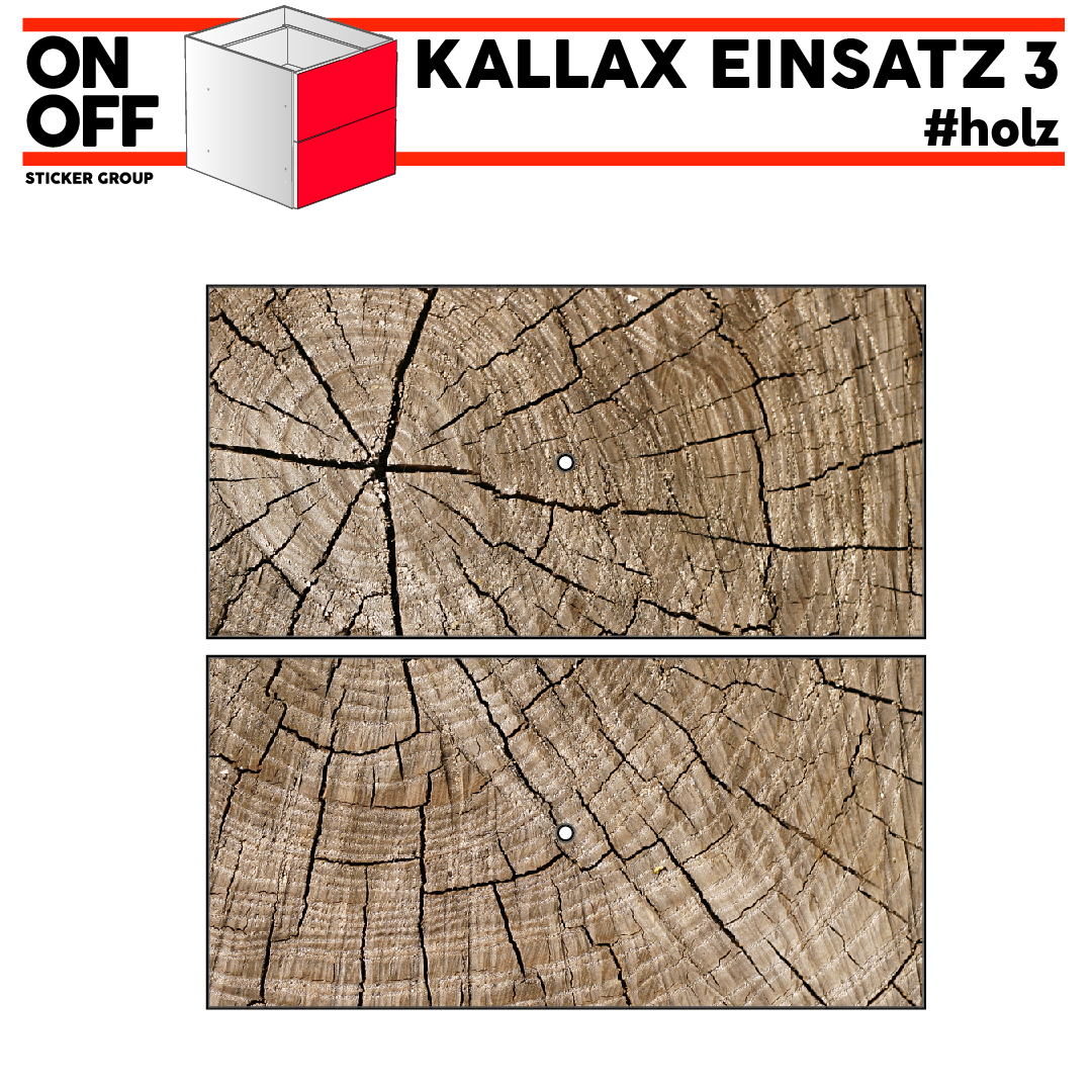 #wood IKEA KALLAX Einsatz, 2 Schubladen