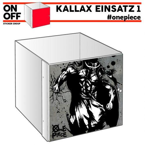 #onepiece IKEA KALLAX Einsatz mit Tür