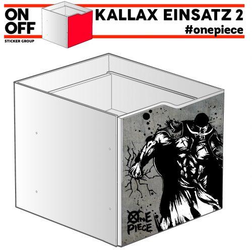 #onepiece IKEA KALLAX Einsatz mit Welle