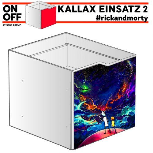 #rickandmorty IKEA KALLAX Einsatz mit Welle