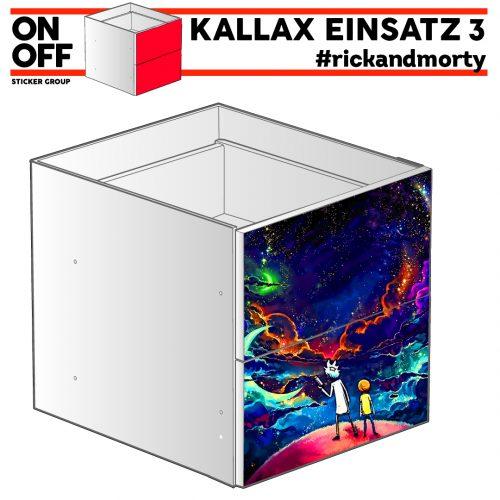 #rickandmorty IKEA KALLAX Einsatz, 2 Schubladen