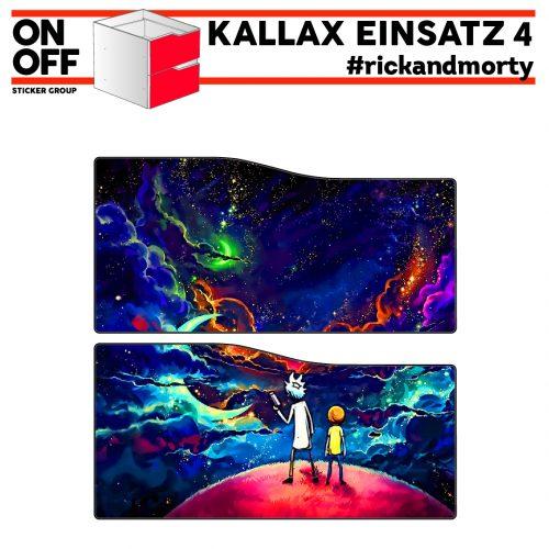 #rickandmorty IKEA KALLAX Einsatz mit 2 Schubladen (Welle)