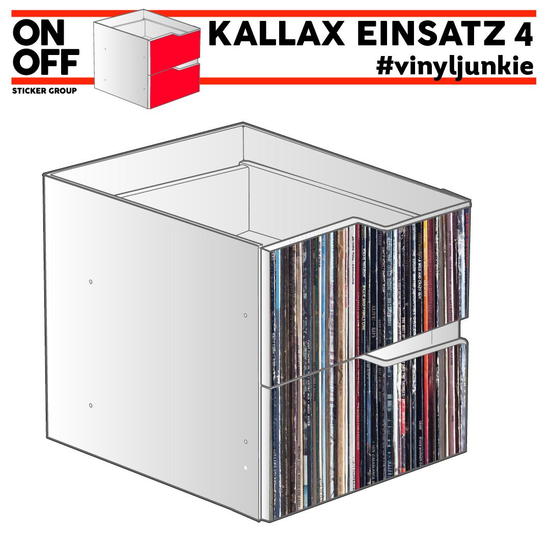 #cdj #vinyljunkie IKEA KALLAX Einsatz mit 2 Schubladen (Welle)