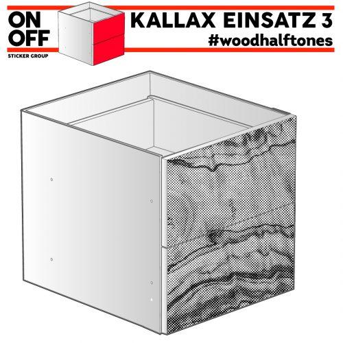 #woodhalftone IKEA KALLAX Einsatz mit 2 Schubladen
